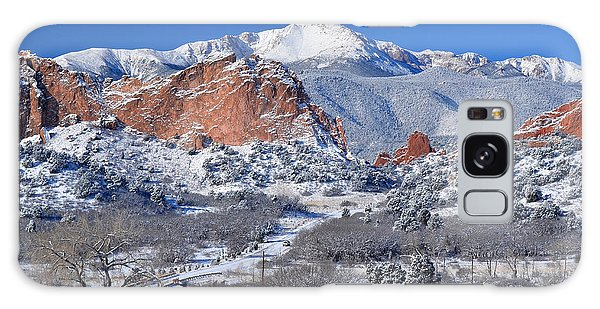 Beautiful Winter Garden Of The Gods Galaxy Case