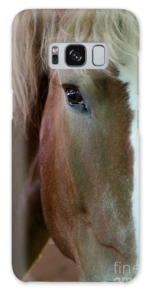 Beautiful Within Him Was The Spirit - 2 Galaxy Case by Linda Shafer