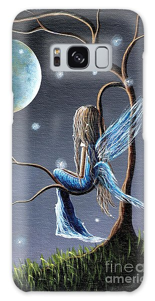 Fairy Art Print - Original Artwork Galaxy Case by Shawna Erback