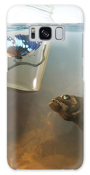 Beauty And The Beast Galaxy Case by Cynthia Decker