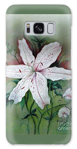 Beauty For Ashes Galaxy Case by Hazel Holland