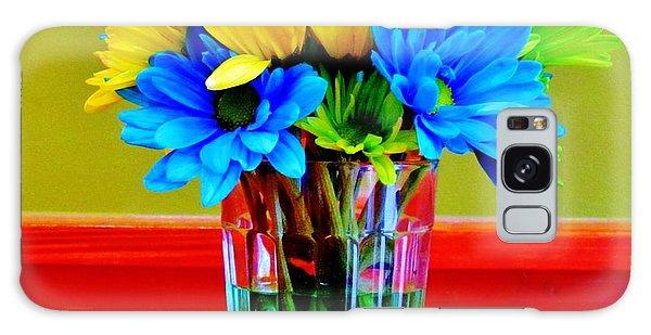 Beauty In A Vase Galaxy Case