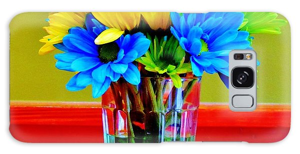 Beauty In A Vase Galaxy Case by Cynthia Guinn