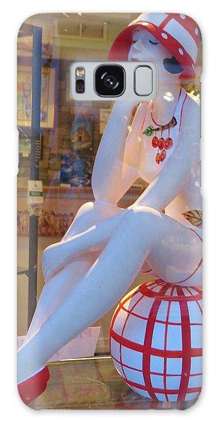 Beauty In Store Front Window Galaxy Case by Jeanette Oberholtzer