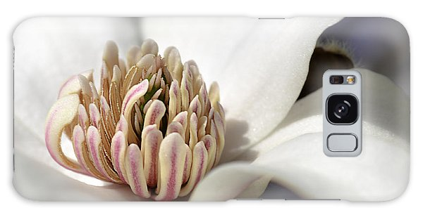 Beauty Of A Merrill Magnolia Galaxy Case by Julie Palencia