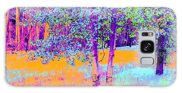 Beauty Of An Aspen Grove Galaxy Case by Ann Johndro-Collins