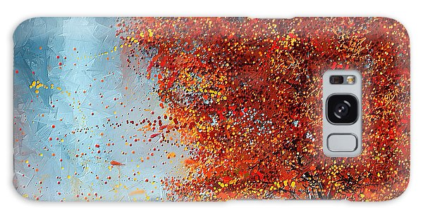 Beauty Of It- Autumn Impressionism Galaxy Case