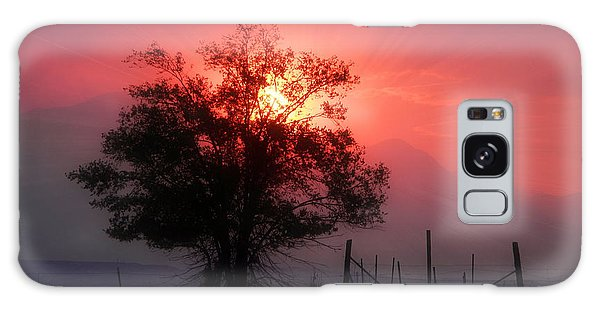 Beauty Of Sunset Galaxy Case by Michelle Frizzell-Thompson