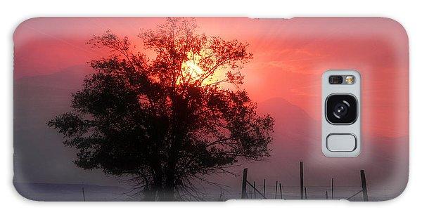 Beauty Of Sunset Galaxy Case