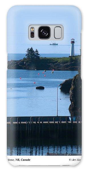 Beaver Harbour Nb Canada Galaxy Case
