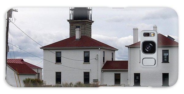 Beavertail Lighthouse Galaxy Case by Catherine Gagne