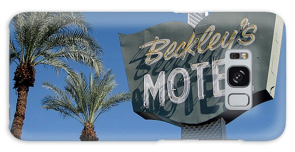 Sixties Galaxy Case - Beckley's Motel Cathedral City by Jim Zahniser