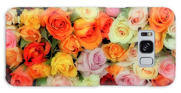 Bed Of Roses Galaxy Case