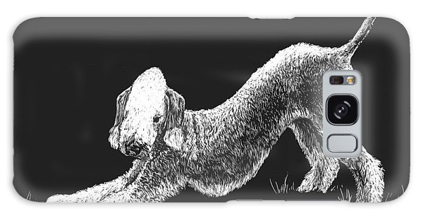 Bedlington Terrier Galaxy Case