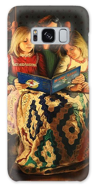 Bedtime Stories Galaxy Case