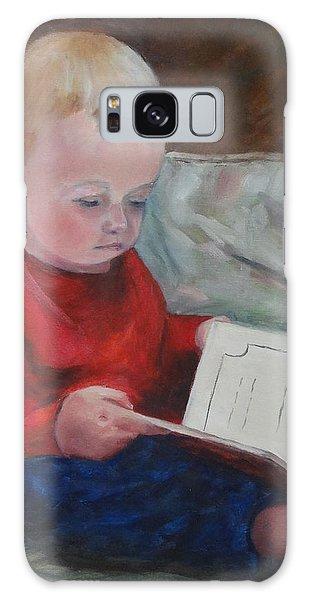 Bedtime Story Galaxy Case by Carol Berning