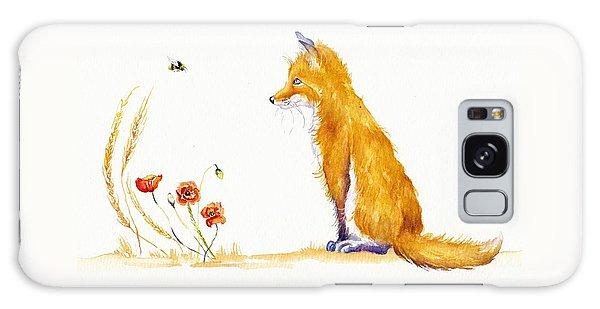 Bee A Summer Fox Galaxy Case