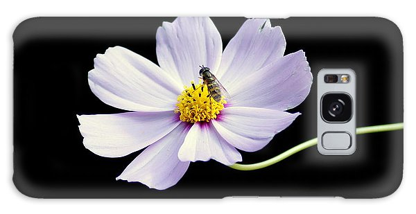 bee and Wildflower Galaxy Case by Paul  Wilford