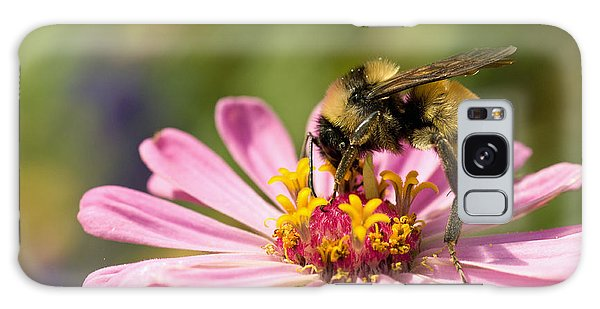 Bee At Work Galaxy Case by Greg Graham