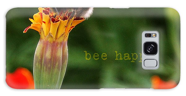 Bee Happy Galaxy Case
