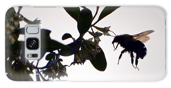 Bee In Flight  Galaxy Case by Kerri Farley