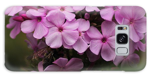 Bee In The Bouquet Galaxy Case