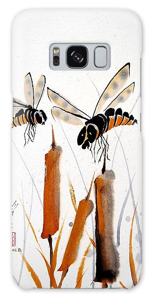 Bee-ing Present Galaxy Case by Bill Searle