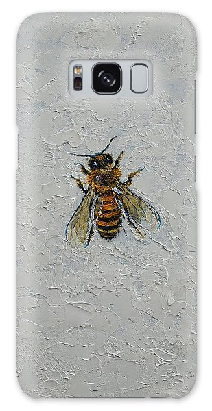 Insect Galaxy Case - Bee by Michael Creese