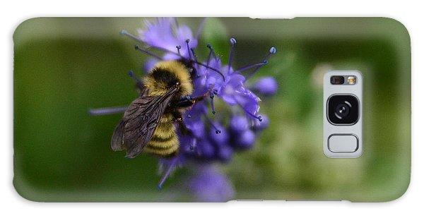 Bee On Spirea Galaxy Case