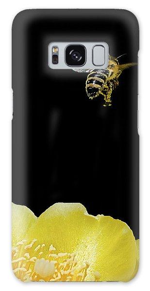 Bee Rising #2 Galaxy Case by Len Romanick