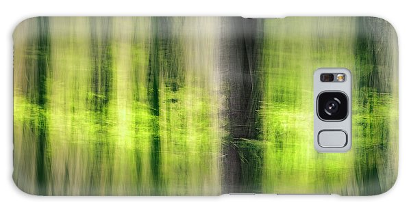 Green Leaf Galaxy Case - Beeches In The Spring by Vladimir Kysela