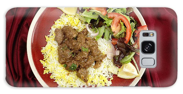 Beef Rogan Josh Meal From Above Galaxy Case