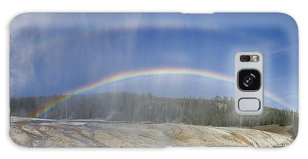 Beehive's Double  Rainbow Galaxy Case