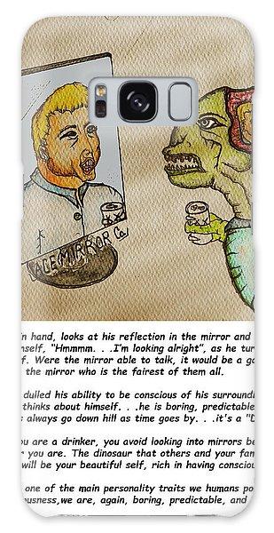 Beer Drinker In The Mirror Galaxy Case