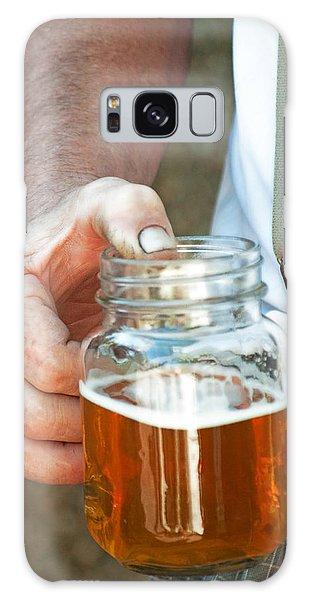 Beer He Drank Galaxy Case by Gwyn Newcombe