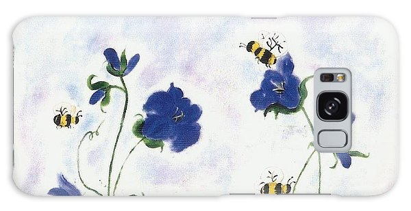 Bees At Lunch Time Galaxy Case by Francine Heykoop