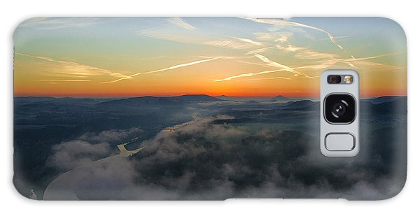 Before Sunrise On The Lilienstein Galaxy Case