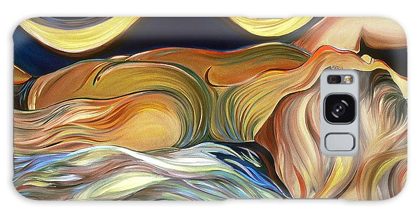 Before The Awakening Galaxy Case by Carolyn Goodridge