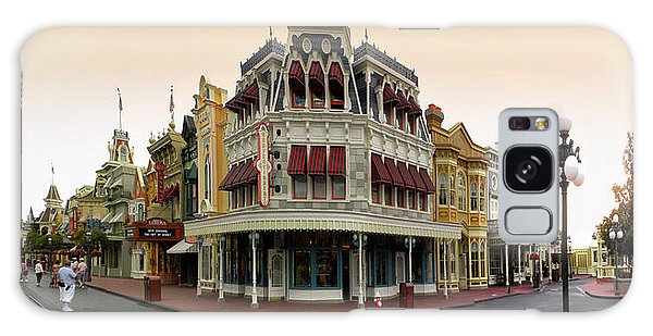 Before The Gates Open Magic Kingdom Main Street. Galaxy Case