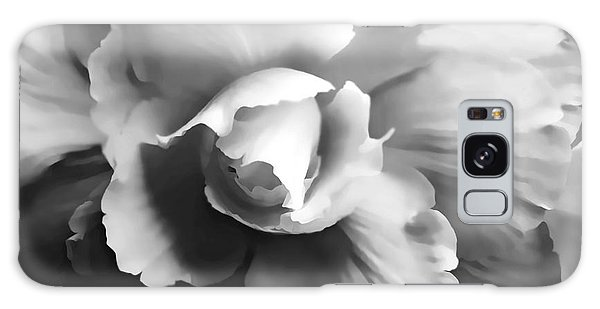 Begonia Flower Monochrome Galaxy Case