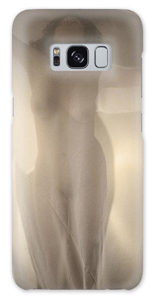 Behind Curtain Nude Galaxy Case