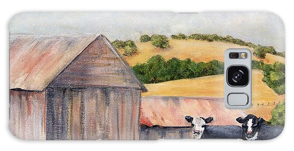 Behind The Barn Galaxy Case by Terry Taylor