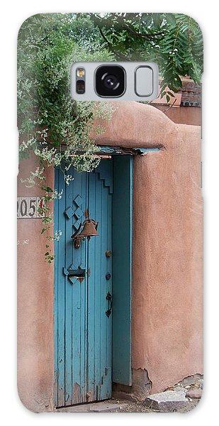 Behind The Blue Door Galaxy Case by Sylvia Thornton