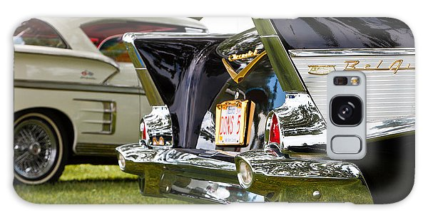Belair Tail Fins  2 Galaxy Case by Mick Flynn