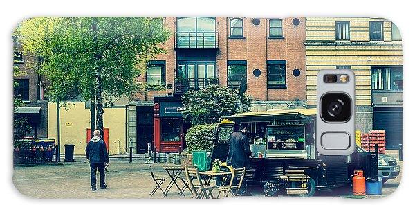 Belfast Street Scene Galaxy Case