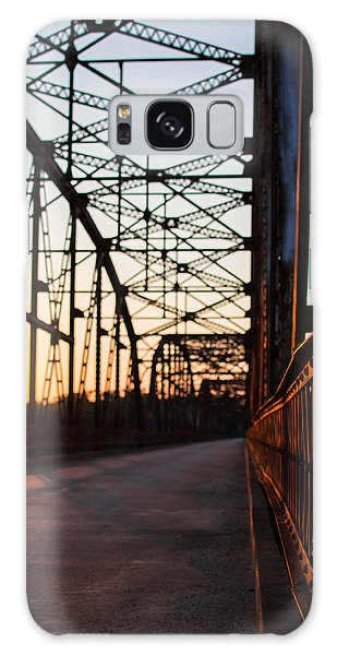 Belford Bridge At Sunset Galaxy Case