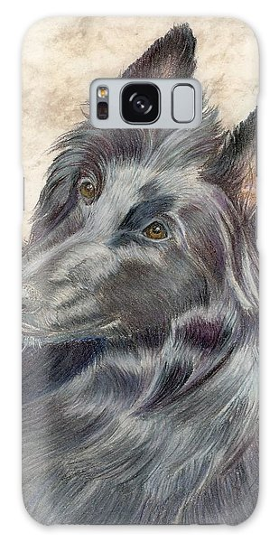 Belgian Sheepdog Galaxy Case by Ruth Seal