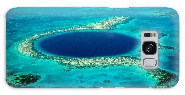 Belize Blue Hole Galaxy Case