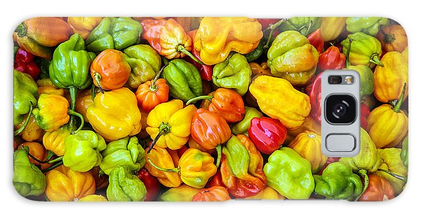 Belize Peppers Galaxy Case