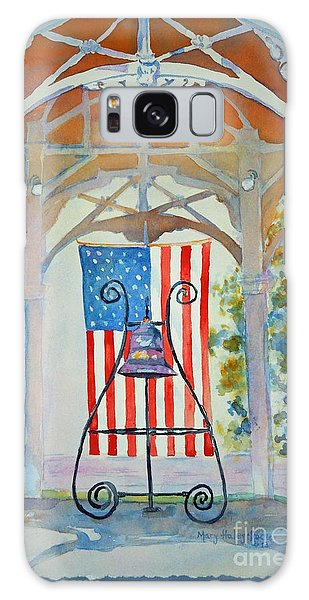 Bell And Flag Galaxy Case